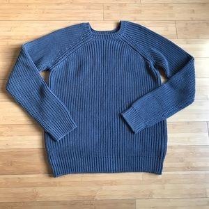 APC madame Paris cable knit sweater size L